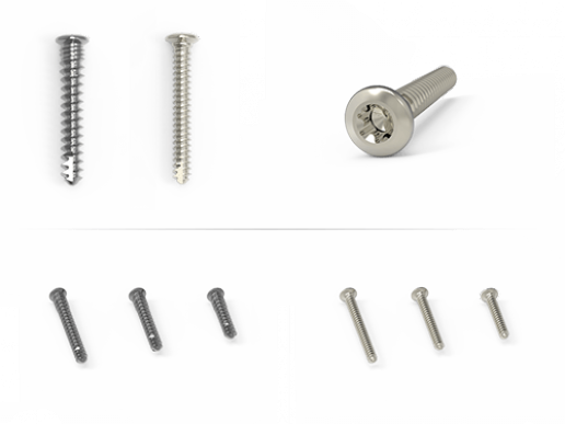 Low-Profile Screws